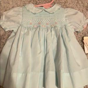 Preemie/ Newborn smock dress